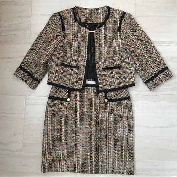 Trina Turk Dresses & Skirts - Trina Turk Tweed Suit